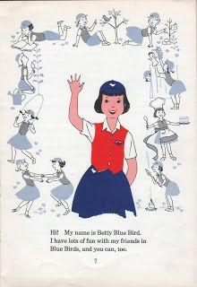 Camp Fire Girls - Bluebirds