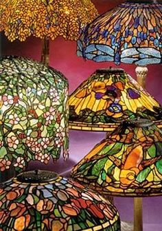 Oh How I love Stained Glass Lamps. Great Website.