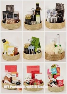 Food Hampers are practical and fun This is how we do it in STYLE - Hampers - Ideas of Hampers Food Gifts, Craft Gifts, Diy Gifts, Food Hampers, Gift Hampers, Cadeau Client, Wine Gift Baskets, Basket Gift, Personalised Gifts Diy