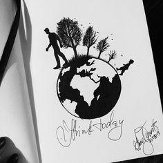 Image de art, drawing, and sketchbook