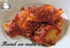 Gran Consiglio della Forchetta - Ravioli con ricotta e zucchero