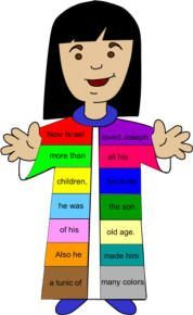 Free Emergent Reader About Joseph S Coat Of Many Colors Fr Joseph Coat Of Many Colors Activity