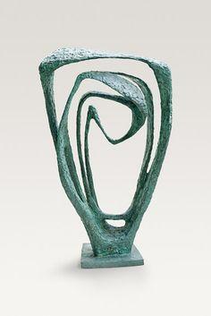 Sculpture Model for Meridian 1958 by English sculptor Barbara Hepworth 19031975 Bronze 68 x 32 x 21 in via Bechtler Museum of Modern Art Abstract Sculpture, Bronze Sculpture, Wood Sculpture, Garden Sculpture, Metal Sculptures, Barbara Hepworth, Mc Escher, Drawn Art, Contemporary Sculpture