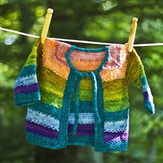 NobleKnits.com - Dream in Color Tulips Baby Cardigan Knitting Kit, $49.00 (http://www.nobleknits.com/dream-in-color-tulips-baby-cardigan-knitting-kit/)