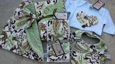 Custom your own MINKY Gift Set See details Over 50 by RNBDesignz, $63.90