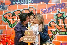Aniversários - Miguel - Aniversário de 8 anos - Hip Hop - São José dos Pinhais - PR Hip Hop, Skate Party, Couple Photos, Couples, Cover, Books, Ideas, 8th Birthday, Trust Yourself