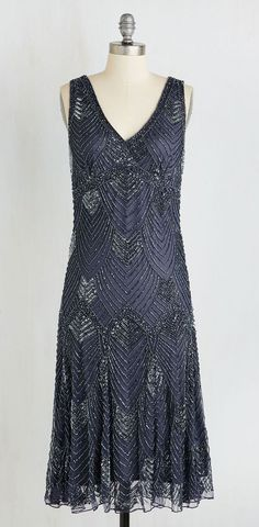Enigmatic Essence Dress - 1920's style