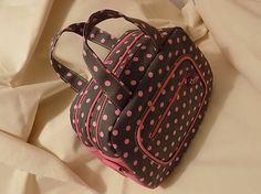 HandmadeByMamicka / Dievčenská dvojkomorová kabelka / Girl's bag; available in different colors