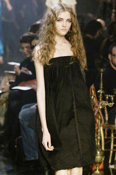 Vlada Roslyakova at Jean Paul Gaultier Haute Couture Spring 2006.