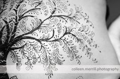colleen merrill photography » Archive » tree of life {maternity henna art photography}