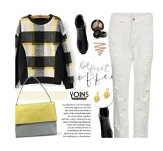 """""""Yoins 17/2.2"""" by merima-kopic ❤ liked on Polyvore featuring Privé, H&M, Gucci, Slate & Willow, yoins and yoinscollection"""