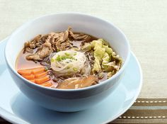 This classic Japanese-inspired soup uses beef sirloin, the cheapest among the premium steaks.