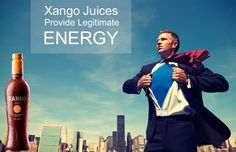 Avoid the energy crashes by juicing up with Xango juices.