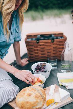 picnic on the beach.