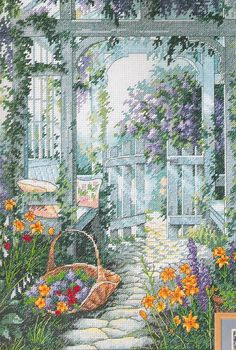 Garden Gate (Cross Stitch Kit)                              …