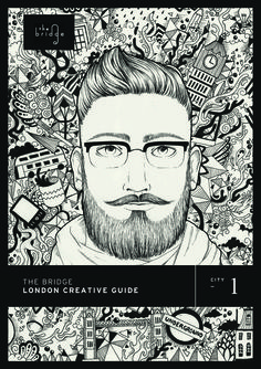 Cover of the London Creative Guide, the ultimate creative guide to live and work in London: www.LondonCreativeGuide.com