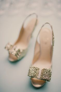sparkly Kate Spade shoes #shoes #glitter