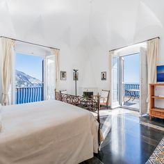 The view up and down the Amalfi Coast from Villa Magia, at Positano's highest point, is like nothing else. In a former life this was a watchtower, whose foundations are still visible, though it grew into a private villa in the 20th century and only opened its doors as a hotel in 2015.