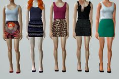 Always Sims: Looks for The Sims 2 Fashion Week
