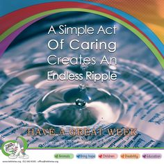"""""""A Simple Act Of Caring Creates An Endless Ripple"""" – Have a great week and let your ripple Mezzz-merize those around you. Tekkie Tax: 012 663 8181 – reception@tekkietax.org - www.tekkietax.org #tekkietax #mezzzmerize #tekkietize #lovingtekkies #projectk4k #TekkieTaxDay South African Celebrities, Great Week, Bring It On, Let It Be, Disability, Grateful, Acting, Wings, Reception"""