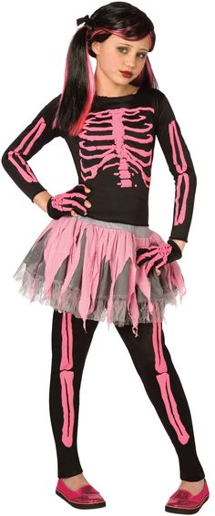 Punk Skeleton Child Costume from BuyCostumes.com