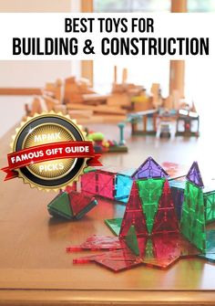 Best building toys for developing math, problem-solving, and spatial thinking skills - love that there are suggested age ranges Christmas Gift Guide, Christmas Toys, Holiday Gifts, Building Toys For Kids, Stem Skills, Stem For Kids, Inspiration For Kids, Thinking Skills, Cool Toys