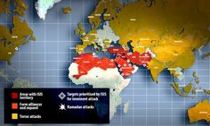 ISIS to expand in Middle East, awaken sleeper cells in south-east Asia #dailymail