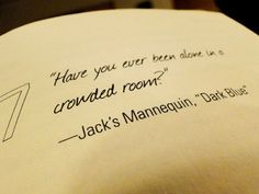 <3 Jack's Mannequin