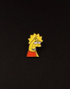 Image of Lisa Loser pin (soft enamel)