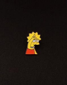 Image of Lisa Loser pin (soft enamel)