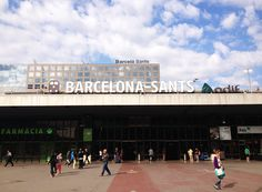 Hello from Barcelona Sants train station. Going to Madrid very soon! <3