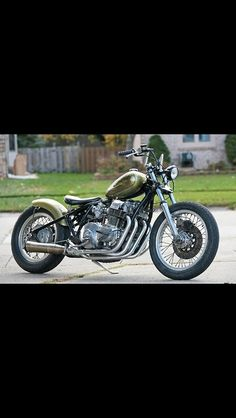 Bobber Inspiration | Honda CB750 bobber | Bobbers and Custom Motorcycles