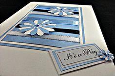 "New Baby Card ""Springtime Boy"""