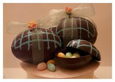 Make Your Own Chocolate Treasure Eggs -- TUTORIAL