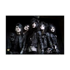 Black Veil Brides ❤ liked on Polyvore featuring black veil brides and bvb