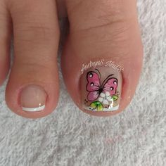 Toe Nail Art, Toe Nails, Toe Nail Designs, Mani Pedi, Ale, Crochet Fruit, Designed Nails, Work Nails, Toenails Painted