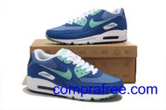 cheaper 12fef 3348d Comprar barato hombre Nike Air Max Zapatillas (color blanco,verde,azul) en  linea en Espana.