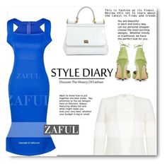 """ZAFUL"" by elly-852 ❤ liked on Polyvore featuring Dolce&Gabbana and Thierry Mugler"