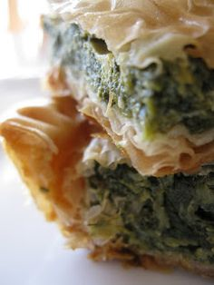 Spanakorizo (Greek Spinach Rice) (veg*n when replacing the chicken ...