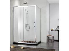 Cabine Doccia Rettangolari : Elegante piatto doccia rettangolare o quadrato copenhague su misura