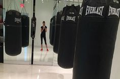 Top Models And Their Workouts | Adriana Lima: This Victoria's Secret Angel works with trainer Michael Olajide Jr. on the reg, who has her do a combo of boxing (she will kick your ass) and jumping rope to shape her sultry lingerie-ready figure. Adrianna shared a taste of her workout with SELF, so you can try a few of her moves at home.