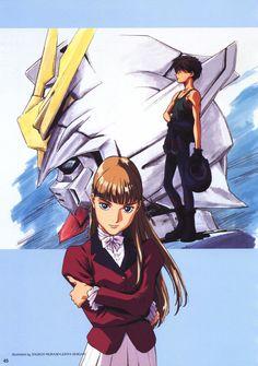 Heero Yuy, 90 Anime, Gundam Mobile Suit, Gundam Wing, Mecha Anime, Manga Games, Art Techniques, Anime Characters, Illustration Art