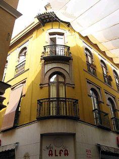 Edificio Anibal Gonzalez, sevilla