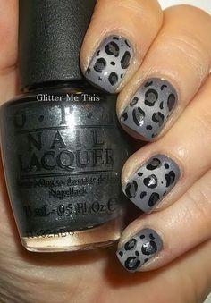 Leopard Nail Art, Leopard Print Nails, Leopard Prints, Animal Prints, Leopard Makeup, Stylish Nails, Trendy Nails, Colorful Nail Designs, Black Nails
