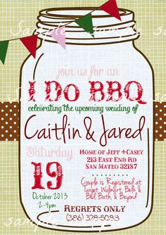 34 best i do bbq invitations images in 2018 engagement invitations