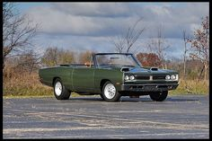 1969 Dodge Coronet Convertible Mopar Muscle Cover Car