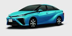 Toyota FCV, czyli pierwszy seryjny samochód z wodorowymi ogniwami paliwowymi.