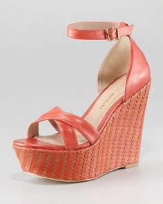 Bonita+Woven+Two-Tone+Wedge+Sandal,+Red+by+Pour+la+Victoire+at+Last+Call+by+Neiman+Marcus.