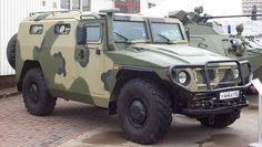 "GAZ ""Tigr"" armored vehicle"