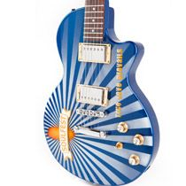 Sunray guitar for SoulFest by Moniker Guitars